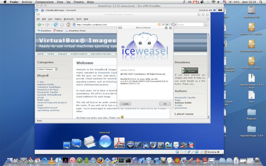 Dreamlinux 3 2 on Mac OS X host | VirtualBoxes - Free VirtualBox® Images