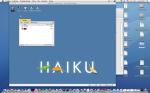 Haiku on Mac OS X host