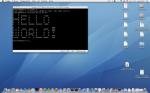 Nexenta Core 1.0.1 on Mac OS X host