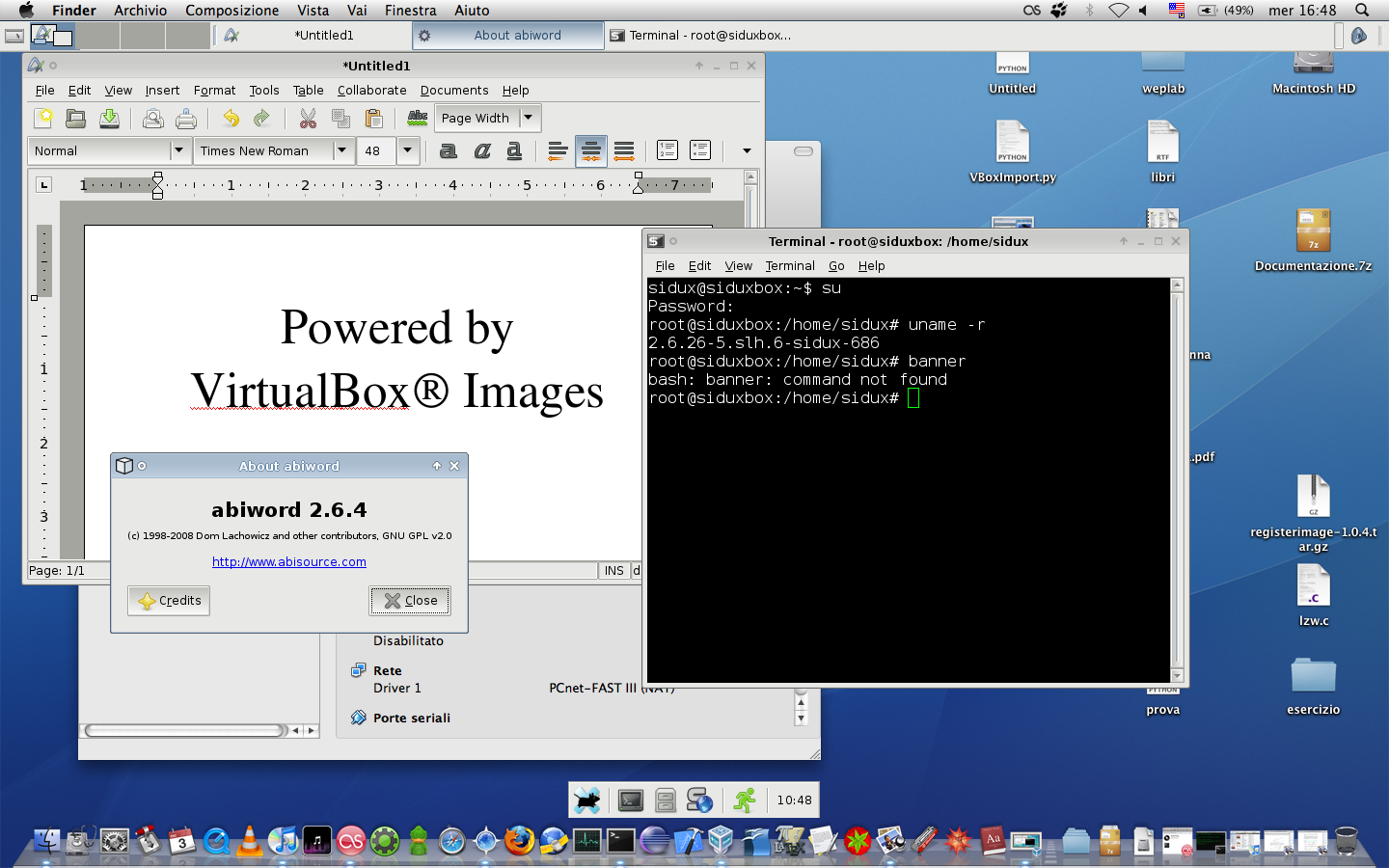 Screenshots | VirtualBoxes - Free VirtualBox® Images